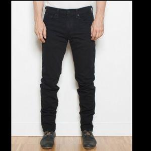 Levi's 511 slim skinny Jean's black 29x29 18 reg